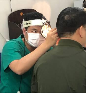 Điều trị viêm tai giữa